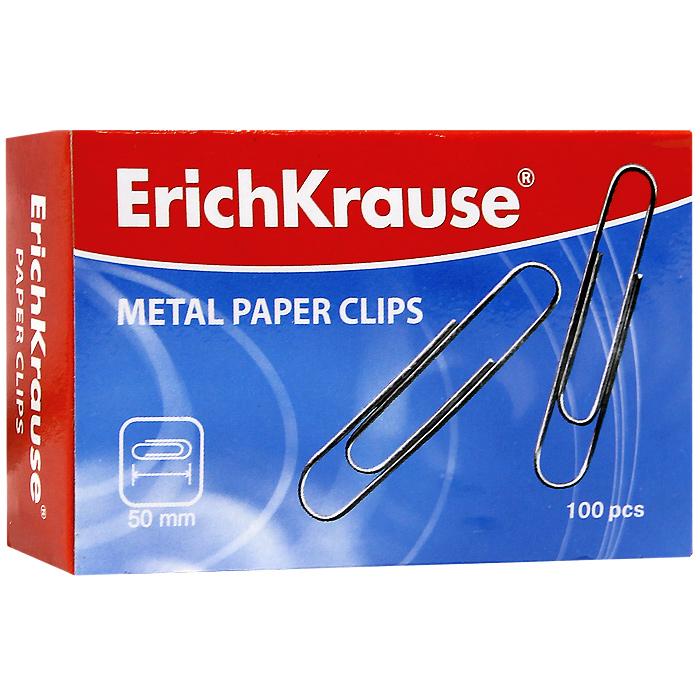 Скрепки металлические Erich Krause, 50 мм, 100 шт. 78577857Скрепки Erich Krause - это универсальный офисный инструмент. Скрепки изготовлены из высококачественной металлической проволоки. Не пачкают и не царапают бумагу. Скрепки Erich Krause обеспечат не только надежное скрепление документов и офисных бумаг, но и добавят ярких красок на ваш рабочий стол. Характеристики: Материал: металл. Размер скрепки: 5 см x 1 см. Количество: 100 шт. Размер упаковки: 8,5 см x 5,5 см x 2,5 см. Изготовитель: Китай.