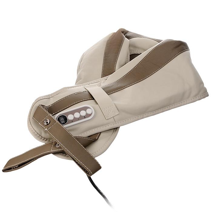 Накидка массажная Bradex Здоровая спинаKZ 0096Постукивания механизма массажной накидки Bradex Здоровая спина способствуют снятию боли и напряжения в области плеч и спины, улучшают кровообращение, оказывают релаксирующее воздействие. Система массажной накидки имеет один автоматический и 15 ручных режимов массажа, которым присущи соответствующие функции и ритм. Кроме того, предполагается 9 уровней силы постукивания, что позволяет регулировать процесс массажа. Панель управления накидки Bradex Здоровая спина легка в эксплуатации, автоматический режим рассчитан на 10 минут во избежание перегревания устройства и чрезмерной нагрузки на организм. В комплекте с накидкой предусмотрена подробная иллюстрированная инструкция на русском языке.