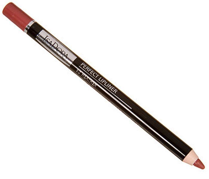 Карандаш для губ Isa Dora Perfect Lipliner, тон №48, цвет: mocca, 1,2 г111448Влагоустойчивый карандаш для губ Isa Dora Perfect Lipliner предотвращает растекание губной помады. Благодаря очень мягкой текстуре и множеству пигментов в составе, карандаш легко растушевывается и долго держится. Также может использоваться как контур для губной помады или блеска.