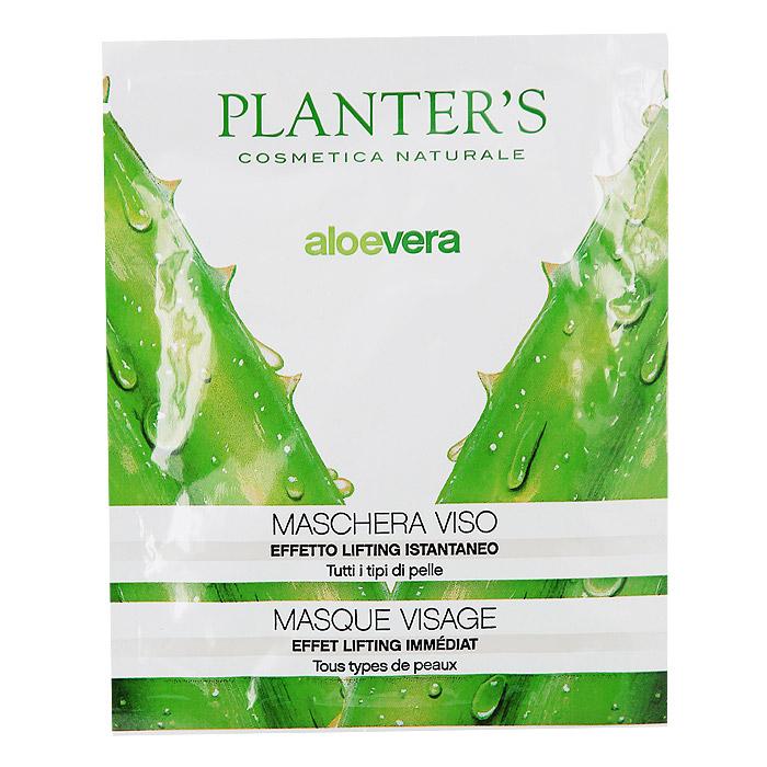Маска для лица Planters Aloe Vera, суперувлажняющая7814Маска для лица Planters Aloe Vera сделана из нетканого материала, пропитана суперулажняющими компонентами. При регулярном еженедельном использовании, в результате глубокого увлажнения улучшается микрорельеф, возвращается жизненная сила коже. Способ применения : маску нанести на очищенное лицо и оставить на 5-10 мин, после снятия маски массажными движениями растереть оставшуюся жидкость до полного впитывания.