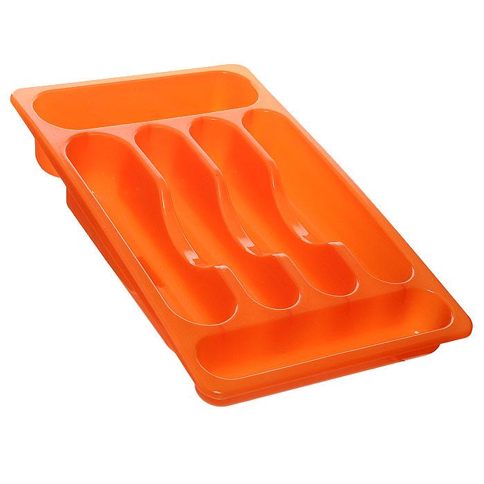 Подставка для столовых приборов Oriental Way, цвет: оранжевый, 39 х 24 х 6,5 см154EHПодставка Oriental Way, выполненная из высококачественного пластика, станет полезным приобретением для вашей кухни. Подставка имеет шесть отделений для разных видов столовых приборов. Такую подставку вы можете вложить в кухонный ящик и удобно расположить все столовые приборы. Каждая хозяйка знает, что подставка для столовых приборов - это незаменимый и очень полезный аксессуар на каждой кухне.