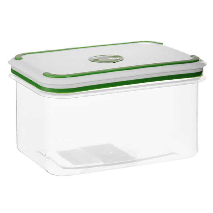 Контейнер для СВЧ NeoWay Simple control прямоугольный, 0,9 лGL9016Прямоугольный контейнер для СВЧ NeoWay Simple control выполнен из сочетания твердого и мягкого пластика, абсолютно безопасного для использования с пищевыми продуктами. Контейнер имеет инновационную крышку, обеспечивающую абсолютную герметичность и водонепроницаемость, не пропускает влагу и запахи, долго сохраняет свежесть продуктов. На крышке есть клапан для выпуска пара и антискользящие вставки для устойчивого вертикального хранения. Контейнер подойдет не только для разогревания продуктов в печи СВЧ, но и для хранения продуктов, в том числе в холодильной и морозильной камерах. Контейнер выдерживает температуру в диапазоне от -20°C до +120°, его можно мыть в посудомоечной машине и нельзя греть пустым и в режиме гриль. Характеристики: Материал: полипропилен. Объем контейнера: 0,9 л. Размер контейнера: 14,5 см х 10 см. Высота контейнера (без учета крышки): 9 см. Производитель: Китай. Артикул: GL9016.