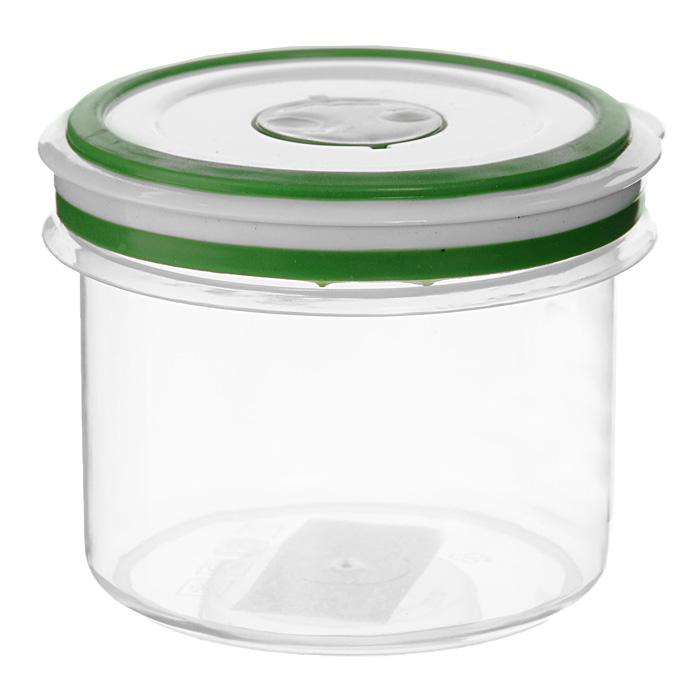 Контейнер для СВЧ NeoWay Simple control круглый, 0,35 лGL9059Круглый контейнер для СВЧ NeoWay Simple control выполнен из сочетания твердого и мягкого пластика, абсолютно безопасного для использования с пищевыми продуктами. Контейнер имеет инновационную крышку, обеспечивающую абсолютную герметичность и водонепроницаемость, не пропускает влагу и запахи, долго сохраняет свежесть продуктов. На крышке есть клапан для выпуска пара и антискользящие вставки для устойчивого вертикального хранения. Контейнер подойдет не только для разогревания продуктов в печи СВЧ, но и для хранения продуктов, в том числе в холодильной и морозильной камерах. Контейнер выдерживает температуру в диапазоне от -20°C до +120°, его можно мыть в посудомоечной машине и нельзя греть пустым и в режиме гриль.