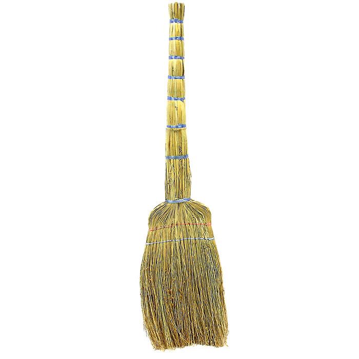 Веник ЕваТекс, сорго, 75 смЕ61Веник сорго используется в быту для подметания полов, а также в промышленных целях для уборки помещений и прилегающих территорий. Веники сорго служат весьма длительное время.