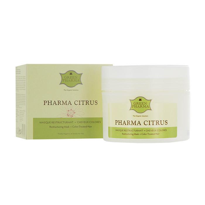 Маска Greenpharma Pharma Citrus восстанавливающая и питательная, для волос, подвергшихся окрашиванию или химической завивке, с растительными маслами и экстрактом грейпфрута, 250 мл7207Восстанавливающая питательная маска Greenpharma Pharma Citrus для волос, подвергшихся окрашиванию или химической завивке, с растительными маслами и экстрактом грейпфрута обеспечивает стимуляцию и восстанавливает блеск, поддерживая красоту волос, высушенных в результате окрашивания, обесцвечивания или химической завивки. Регенерирующие и питательные свойства растительных масел иллипа и карите в сочетании с глубоким восстанавливающим действием протеинов сладкого миндаля позволяют нормализовать поврежденную структуру кератина и вернуть волосам упругость. Уставшие от химических процедур волосы становятся шелковистыми и эластичными. В состав маски входит также экстракт грейпфрута, который разглаживает поверхностные чешуйки волос, фиксирует цвет и возвращает волосам блеск. Способ применения: распределить маску на отжатые влажные волосы при помощи расчески. Оставить на 2-5 минут. Тщательно смыть. Компания GreenPharma S.A.S. - лидер инновационных разработок в области...