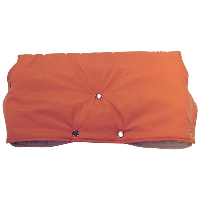 """Муфта для рук на коляску """"Чудо-Чадо"""", флисовая, цвет: оранжевый МКФ02-000"""
