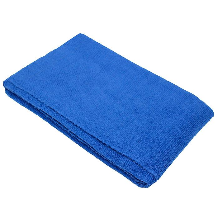Тряпка для пола Eva, цвет: синий, 50 х 60 смЕ7302Тряпка для пола Eva выполнена из микрофибры (полиэстера и полиамида). Благодаря микроструктуре волокон она проникает в поры материалов, а поэтому может удалять загрязнения без применения химических средств. Тряпка удерживает влагу, не оставляет разводов и ворса. Размер: 50 см х 60 см.