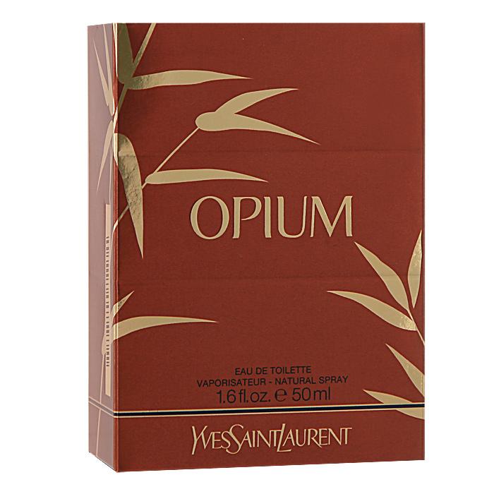 Yves Saint Laurent Opium. Туалетная вода, женская, 50 млL0815603В истории парфюмерии больше нет аромата, который бы так воплощал очарование, волшебство и экзотику. Созданный в 1977 году Opium воплощает Восток с его уникальным пониманием скрытых женских страстей и необъяснимых эмоций. Попробовав этот восточный аромат вы почувствуете как он обволакивает вас. Ноты розы, гвоздики и сандаловое дерева создают романтическое настроение. Для женственных, нежных и утонченных женщин. Парфюмерная композиция этого аромата включает в себя жасмин и бергамот, ее дополняют сандаловое дерево, пачули, гвоздика и роза, и завершают аромат, тангерин и ваниль. Классификация аромата : цветочный, восточный. Пирамида аромата : Основные ноты: роза, сандаловое дерево, гвоздика. Ключевые слова : Женственный, нежный, утонченный!