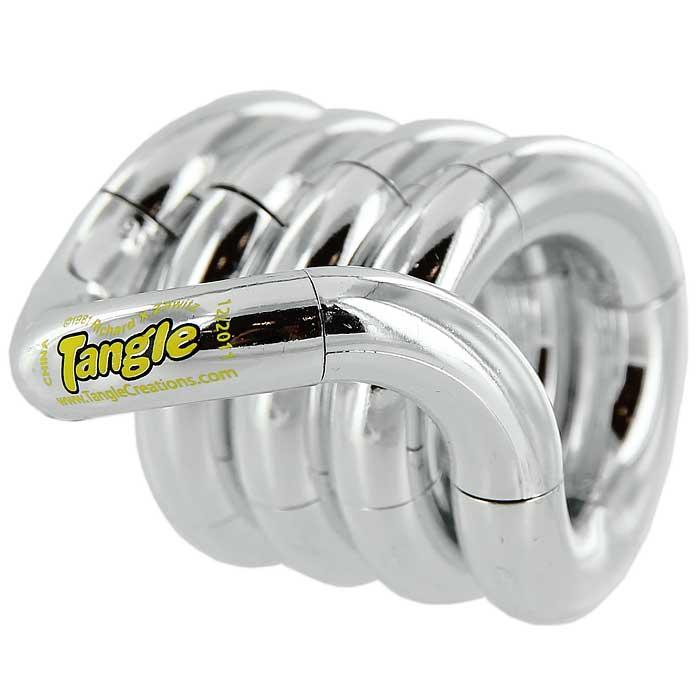 Змейка Tangle, цвет: белыйТГ126Змейка Tangle желтого цвета станет полезным подарком вашему ребенку. Змейка скручивается в любую форму. Игра со змейкой развивает у вашего ребенка воображение, внимательность, способствует развитию мелкой моторики рук.