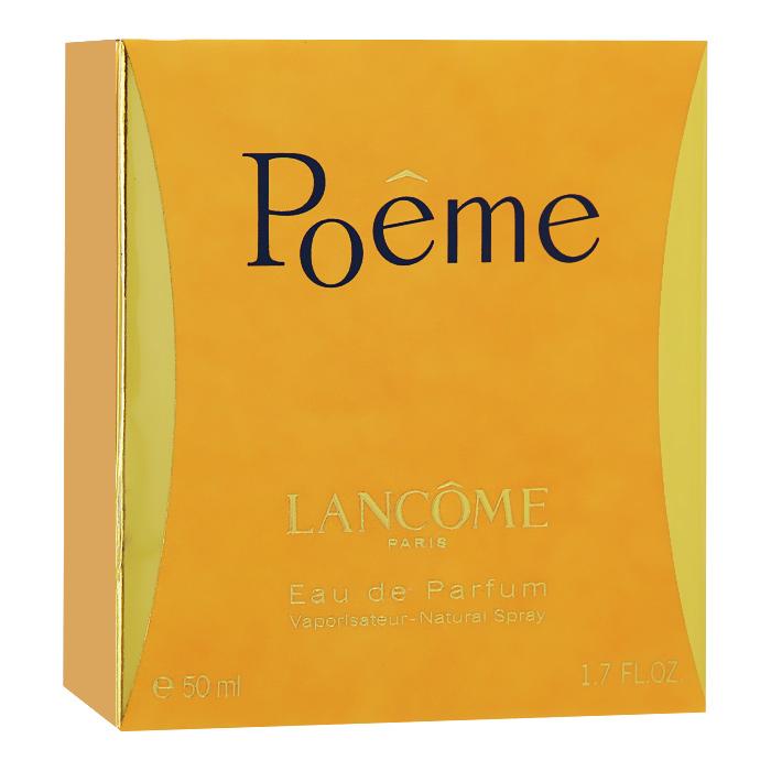 Lancome Парфюмерная вода Poeme, 50 мл04127Poeme - это песнь о любви и стихах от Lancome. Лирический аромат создан для прирожденных романтиков. Вопреки традиционному подходу к созданию композиции, парфюмер Жак Кавалье (Jacques Cavallier) создал Poeme, скомбинировав ноты гималайского голубого мака с травой, известной в народе под названием дурман. Этот аккорд в сочетании с букетом богатых цветов придает парфюму необычный, переменчивый характер. Классификация аромата : цветочный. Верхние ноты: черная смородина, мандарин, персик, бергамот. Ноты сердца: жасмин, фрезия, тубероза, цветок апельсина. Ноты шлейфа: амбра, ваниль, мускус, бобы тонка. Ключевые слова : Женственный, роскошный, тонкий, элегантный! Товар сертифицирован.