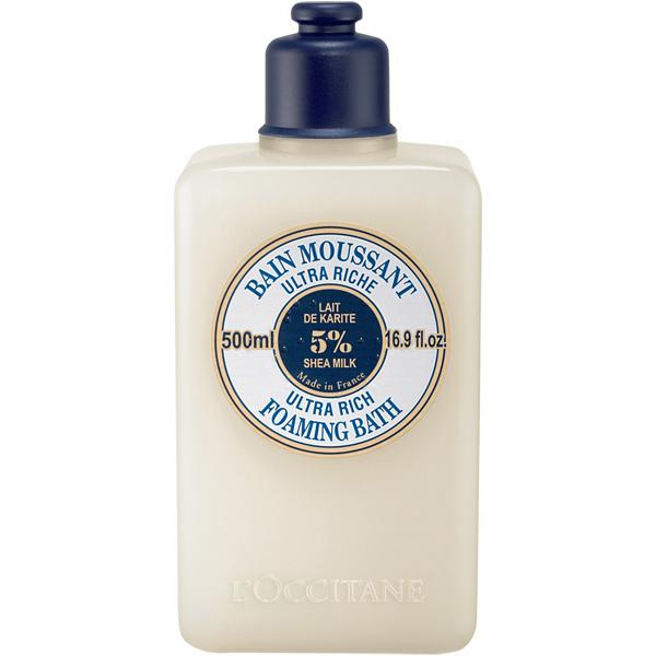 Пена для ванн LOccitane Ультра-питание, 500 мл230008Пена для ванн LOccitane Ультра-питание обогащено молочком карите со смягчающими и защитными свойствами. Пена при контакте с водой образует нежную пену. Увлажняющая формула сохраняет естественный баланс кожи и оставляет ее гладкой, нежной, с тонким ароматом.