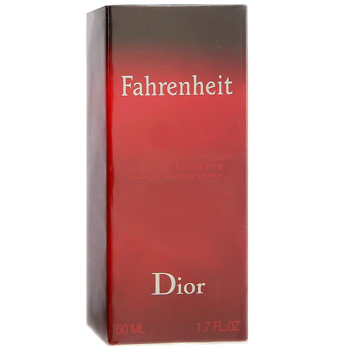 "Christian Dior ""Fahrenheit"". Туалетная вода, мужская, 50 мл F006622009"