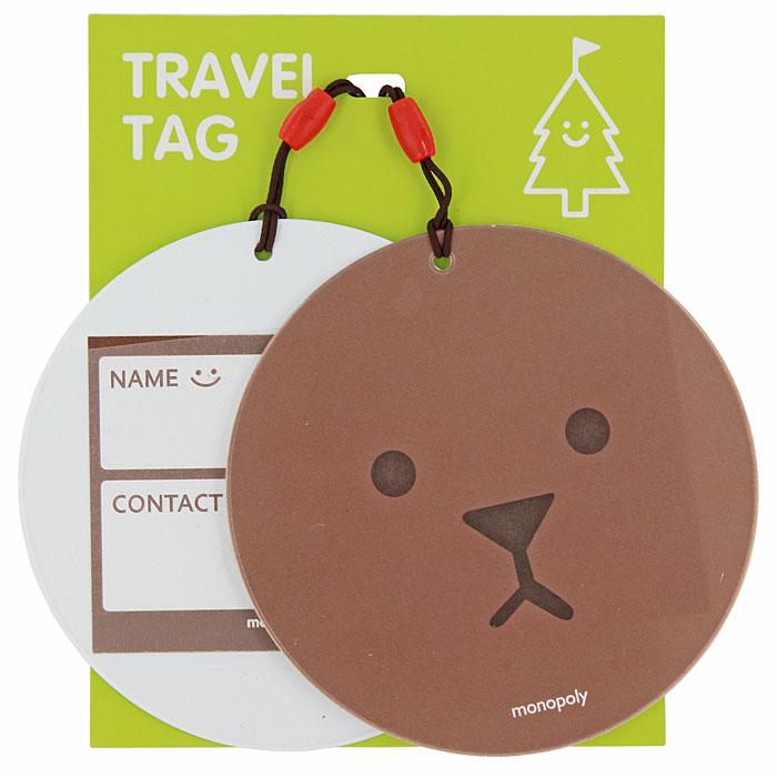 Бирка на багаж Suny. D Медведь, 2 шт0907019Оригинальная бирка для чемодана Suny. D, выполненная из пластика, декорирована изображением медвежонка. С внутренней стороны она оснащена прозрачным окошком с визиткой, на которой вы можете указать свое имя и контактные данные. Бирка крепится на прочную резинку. Бирка позволит вам быстро отыскать свой багаж на транспортерной ленте. А если ваш багаж отправится в другом направлении, яркая бирка поможет работникам аэропорта скорее найти владельца и доставить багаж.