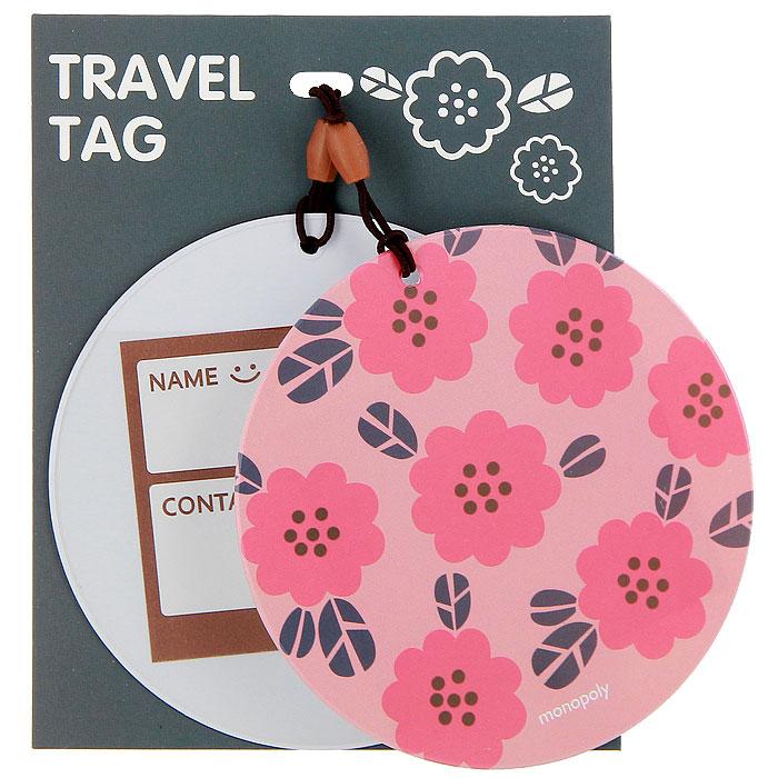 Бирка на багаж Suny. D Цветы, 2 шт0907018Оригинальная бирка для чемодана Suny. D, выполненная из пластика, декорирована цветочным орнаментом. С внутренней стороны она оснащена прозрачным окошком с визиткой, на которой вы можете указать свое имя и контактные данные. Бирка крепится на прочную резинку. Бирка позволит вам быстро отыскать свой багаж на транспортерной ленте. А если ваш багаж отправится в другом направлении, яркая бирка поможет работникам аэропорта скорее найти владельца и доставить багаж.