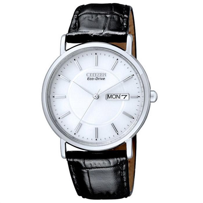 Наручные часы Citizen BM8241-01AEBM8241-01AEНаручные мужские часы Citizen BM8241. Данная модель имеет гибридный механизм Eco-Drive. Проходя через специальный светопроницаемый циферблат, свет попадает на высокочувствительный фотоэлемент, преобразующий его в энергию, которая аккумулируется в специальном накопителе и используется для питания кварцевого часового механизма.