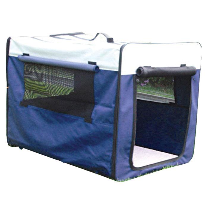 Дом-тент для собак Amma, цвет: синий, 61 см х 46 см х 53,5 смDCC1047MДом-тент для собак Amma, изготовленный из экологического синтетического материала, идеален для использования в помещении или на улице. Запатентованная конструкция дает возможность легко и быстро собрать дом, а сумка-чехол на регулируемой лямке позволит его взять с собой. Дом-тент - это лучший выбор для вашего четвероногого любимца, где ему будет комфортно и уютно! Дом защитит его от дождя и солнца. Дом-тент упакован в удобную сумку-чехол на молнии. В комплект входит инструкция по сборке дома. Особенности дома-тента: - комфортная подстилка; - дышащий материал; - легкая сборка на молнии. Размер домика: 61 см х 46 см х 53,5 см.