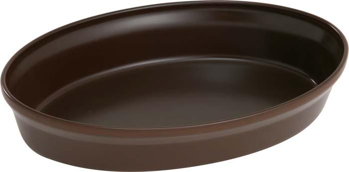 Форма для запекания овальная Ceraflame, 1.6 л, цвет: шоколад, 31 х 21 смA4085Форму для запекания Ceraflame можно использовать для приготовления еды и для подачи блюда на стол. Емкость идеальна для запекания в духовке птицы и мяса, для приготовления лазаньи, запеканки и даже пирогов. У емкости для запекания Ceraflame высокий край, а стенки долго сохраняют тепло. подходит для использования на открытом огне и в микроволновых печах. эмалированная поверхность устойчива к царапинам. Характеристики: Материал: керамика. Цвет: шоколад. Размер формы: 31 см х 21 см х 7 см. Объем формы: 1,6 л. Размер упаковки: 35 см х 23 см х 8 см. Артикул: A4085.