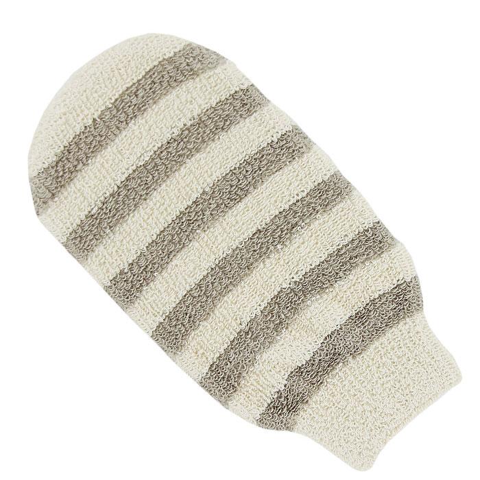 Мочалка-рукавица массажная Riffi. 411411Мочалка-рукавица Riffi идеально подходит для мытья тела, массажа и пилинга в душе. Льняные полоски придают массажу мягкость, не раздражая даже особо чувствительную кожу. Биоорганически выращенный лен и хлопок гарантируют высокую гигиеничность массажа, повышают его антицеллюлитную эффективность и способствуют глубокой очистке даже самой сильно пористой кожи. Интенсивный и пощипывающе свежий массаж тела с применением Riffi стимулирует кровообращение, активирует кровоснабжение и улучшает общее самочувствие. Благодаря отшелушивающему эффекту кожа освобождается от отмерших клеток, становится гладкой, упругой и свежей. Riffi регенерирует кожу, делает ее приятно нежной, мягкой и лучше готовой к принятию косметических средств. Приносит приятное расслабление всему организму. Борется со спазмами и болями в мышцах, предупреждает образование целлюлита и обеспечивает омолаживающий эффект. Моет легко и энергично. Быстро сохнет. Биологически чистые материалы предохраняют особо нежную и...