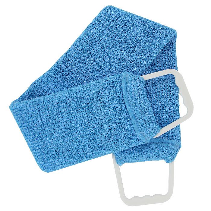 Мочалка-пояс массажная Riffi, цвет: синий