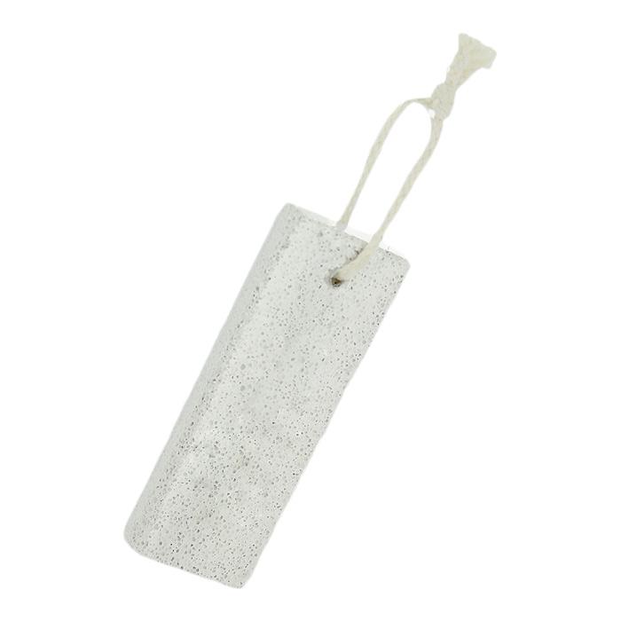 Пемза Riffi, прямоугольная594Пемза Riffi эффективно удаляет огрубевшую, сухую кожу ступней и локтей, делая их мягкими и гладкими. Для удобства применения снабжена веревочной петелькой. Характеристики: Материал: натуральная пемза, текстиль. Размер: 14 см x 4,5 см x 2 см. Производитель: Германия. Артикул: 594.