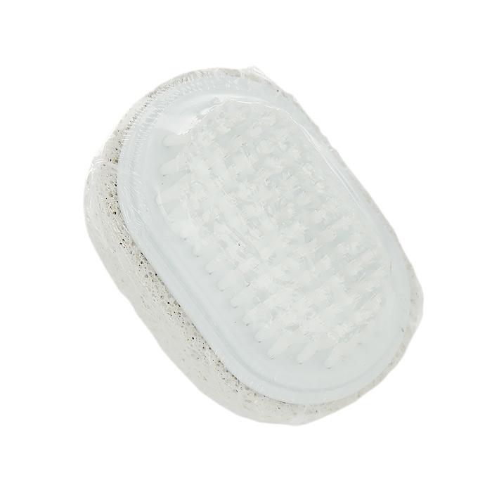 Пемза Riffi, с щеткой для ногтей591Пемза Riffi, дополненная небольшой щеточкой для ногтей, эффективно удалит огрубевшую, сухую кожу ступней и локтей, делая их мягкими и гладкими. Характеристики: Материал: натуральная пемза, пластик. Размер: 7 см x 4,5 см x 3,5 см. Производитель: Германия. Артикул: 591.