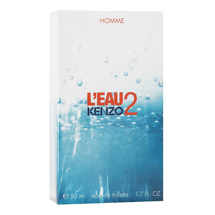 Kenzo Leau 2 Kenzo Pour Homme Туалетная вода, 50 мл