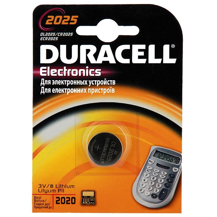 Батарейка литиевая Duracell. DL2025DRC-81469148Литиевая батарейка Duracell предназначена для использования в различных электронных устройствах, например калькуляторах. Выполнена из прочного металла. Уважаемые клиенты! Обращаем ваше внимание на возможные изменения в дизайне упаковки. Качественные характеристики товара остаются неизменными. Поставка осуществляется в зависимости от наличия на складе.
