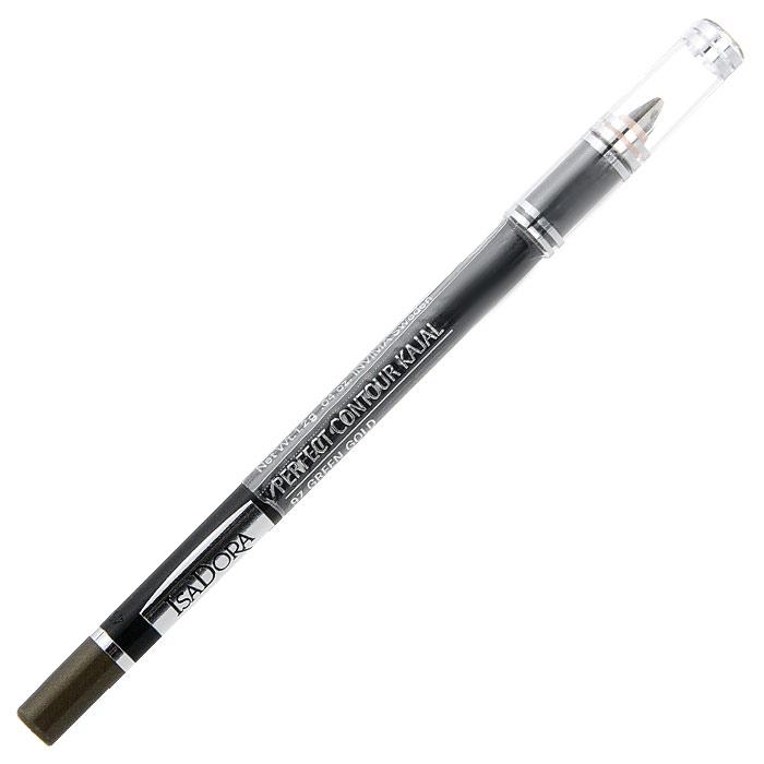 Контурный карандаш для глаз Isa Dora Perfect Contour Kajal, тон №97, цвет: золотистый зеленый, 1,2 г