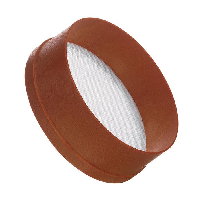 Сито Cosmoplast, цвет: коричневый, диаметр 23 см. 41284128Сито Cosmoplast, выполненное из высококачественного пищевого пластика, станет незаменимым аксессуаром на вашей кухне. Оно предназначено для просеивания и процеживания муки. Такое сито станет достойным дополнением к кухонному инвентарю. Диаметр сита: 23 см. Высота стенки: 8 см.