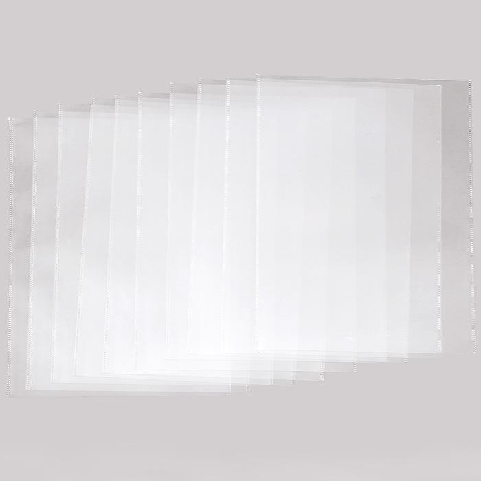 Карман Crystal Clear, 10 шт, формат А430637Карман Crystal Clear предназначен для хранения и транспортировки документов. Плотная высокопрозрачная пленка защищает содержимое кармана от внешних воздействий и механических повреждений, позволяя просматривать текст документа, не вынимая его изнутри.