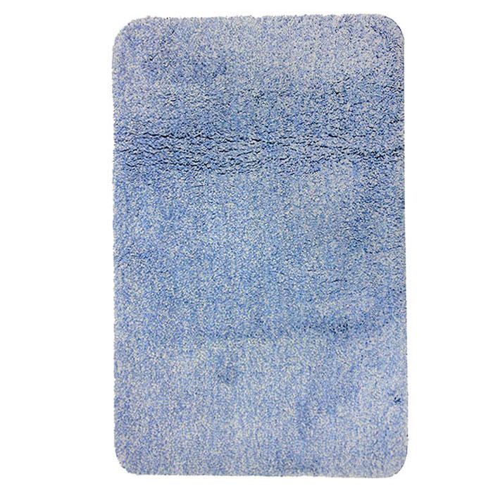 Коврик для ванной комнаты Gobi, цвет: светло-голубой, 60 х 90 см1012424Коврик для ванной комнаты Gobi светло-голубого цвета выполнен из полиэстера высокого качества. Прорезиненная основа коврика позволяет использовать его во влажных помещениях, предотвращает скольжение коврика по гладкой поверхности, а также обеспечивает надежную фиксацию ворса. Коврик добавит тепла и уюта в ваш дом.