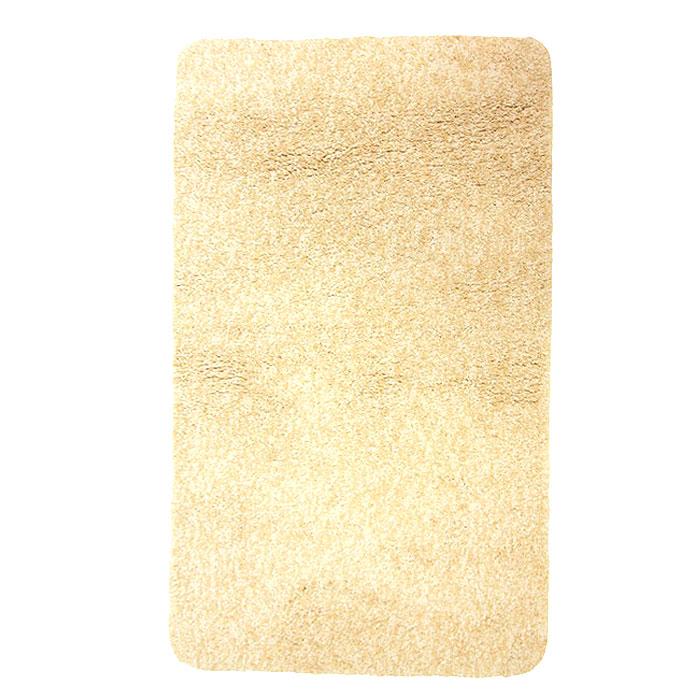 Коврик для ванной комнаты Gobi, цвет: светло-бежевый, 60 х 90 см1012516Коврик для ванной комнаты Gobi светло-бежевого цвета выполнен из полиэстера высокого качества. Прорезиненная основа коврика позволяет использовать его во влажных помещениях, предотвращает скольжение коврика по гладкой поверхности, а также обеспечивает надежную фиксацию ворса. Коврик добавит тепла и уюта в ваш дом.