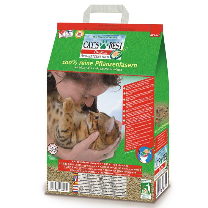 Наполнитель для кошачьего туалета Cats Best Eko Plus, древесный, 20 л12106Наполнитель для кошачьего туалета Cats Best Eko Plus вырабатывается из необработанной европейской еловой и сосновой древесины, которая берётся из свежеупавших стволов. Применение некондиционной древесины сохраняет здоровые природные лесные ресурсы. Особенности наполнителя для кошачьего туалета Cats Best Eko Plus: экологически чистый и биоразлагаемый на 100%. Вырабатывается из необработанной европейской еловой и сосновой древесины, которая берется из свежеупавших стволов. Применение некондиционной древесины сохраняет здоровые природные лесные ресурсы. Не содержит искусственных химических добавок; очень экономичный. Примерно в 3 раза выгоднее многих других комкующихся наполнителей. Он может существенно дольше оставаться в кошачьем лотке, и тем самым является более экономичной альтернативой многих, как ошибочно полагают, более дешевых наполнителей, что подтверждают сравнительные тесты; прекрасно поглощает неприятные запахи. Неприятный запах эффективно и в...