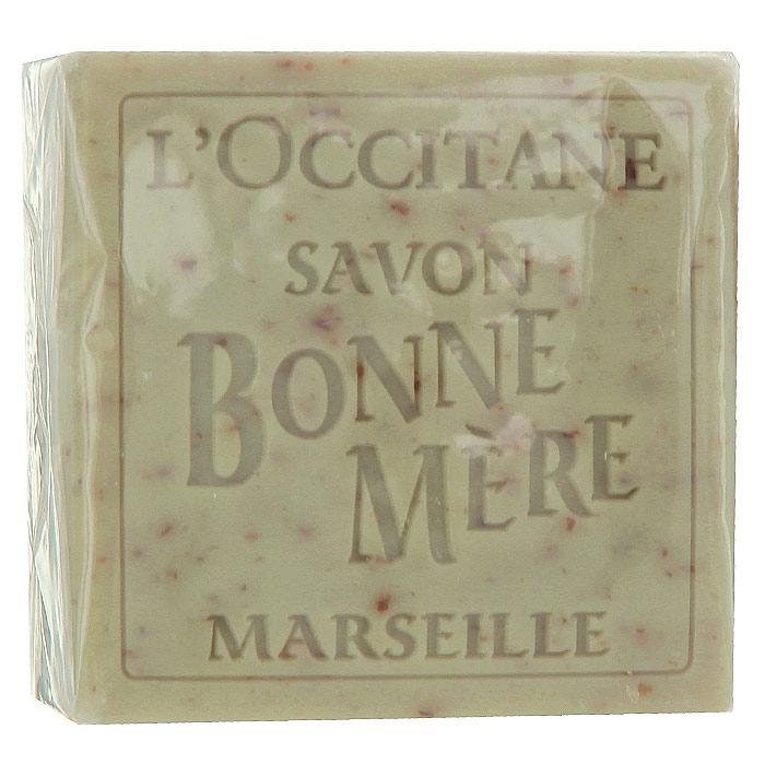 Мыло LOccitane Bonne Mere. Вербена, 100 г244760Туалетное мыло LOccitane Вербена изготовлено на натуральной растительной основе с соблюдением древнейших марсельских традиций. Мыло, обогащенное органическим экстрактом вербены из Прванса, бережно очищает и смягчает кожу, не пересушивая ее.