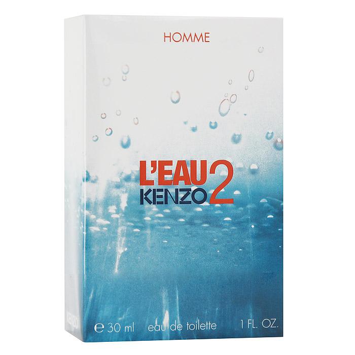 """Kenzo """"L'eau 2 Kenzo Pour Homme"""" Туалетная вода, 30 мл 952619"""