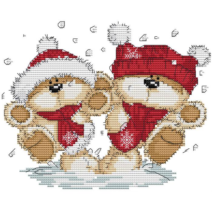 Набор для вышивания крестом Снежки, 26 см х 22 см401-14В наборе для вышивания крестом Снежки есть все необходимое для создания собственного чуда: обработанная канва Аида 14СТ белого цвета, хлопковые мулине, цветная символьная схема и инструкция по вышиванию. Красивый и стильный рисунок-вышивка, выполненный на канве, выглядит оригинально и всегда модно. Канва в наборах обработана крахмальным средством и полужесткая, что позволяет вышивать как с пяльцами, так и без них. Нитки, применяемые в наборах, изготавливаются из хлопка, гладкие, ровные, имеют стойкую окраску. Работа, сделанная своими руками, создаст особый уют и атмосферу в доме, и долгие годы будет радовать вас и ваших близких. Работа, которая отвлечет вас от повседневных забот, и превратится в увлекательное занятие!