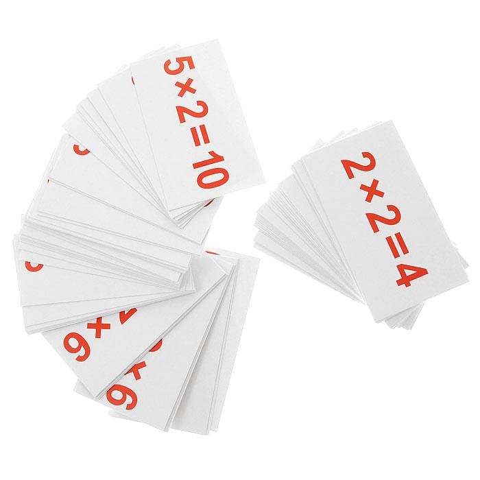 Комплект карточек УмножениеВСП-УмножениеКомплект Умножение содержит 75 двусторонних карточек с простыми примерами на умножение. На одной стороне карточек написан пример, а на другой стороне - ответ на этот пример. Игры с такими карточками развивают у ребенка интеллект и формируют фотографическую память. Занятия с ребенком превратятся в интересную игру! Характеристики: Размер карточки: 10 см х 5,5 см.