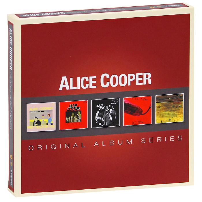 Alice Cooper. Original Album Series (5 CD)