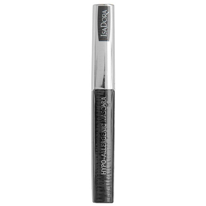 Тушь для ресниц Isa Dora Hypo-Allergenic Mascara, гипоаллергенная, тон №01, цвет: черный, 7 мл