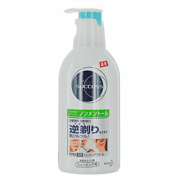 Success Пена для бритья, без ментола, 250 мл23761Пена для бритья Success без ментола с экстрактом морских водорослей (каррагенин) образует микроскопическую защитную пленку от порезов и возникновения раздражения. Средство питает и успокаивает чувствительную кожу лица. Поврежденные клетки кожи получают дополнительное питание и увлажнение. Качество бритья заметно улучшается, становится быстрым и без порезов. Экстракт алоэ оказывает увлажняющее и успокаивающее действия. Термальная вода в составе пены прекрасно увлажняет. Обладает свежим ароматом трав.