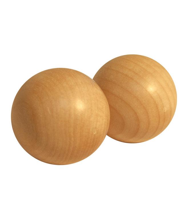 Массажер для рук Шары40157Массажер для рук выполнен в виде двух деревянных шаров. Такой массажер снимает усталость, улучшает общее состояние организма и ваше самочувствие, активизирует кровообращение. Благотворно влияет на различные внутренние органы за счет воздействия на нервные окончания, обеспечивая их активную деятельность и нормализацию обмена веществ. Характеристики: Материал: дерево. Диаметр шара: 4 см. Размер упаковки: 4,2 см х 4,2 см х 8,5 см. Артикул: 40157.