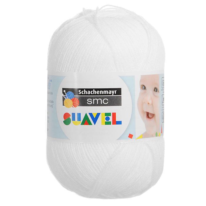 Детская пряжа для вязания Suavel, цвет: Weiss / Белый (07474), 366 м, 50 г9814876-07474Пряжа для вязания Suavel изготовлена из 100% полиакрила белого цвета. Пряжа обладает антибактериальными свойствами, поэтому детская одежда будет всегда оставаться чистой и свободной от микробов. Антибактериальная защита сохраняется даже после многократных стирок. Богатая цветовая палитра позволит выбрать как классические цвета, так и более насыщенные.
