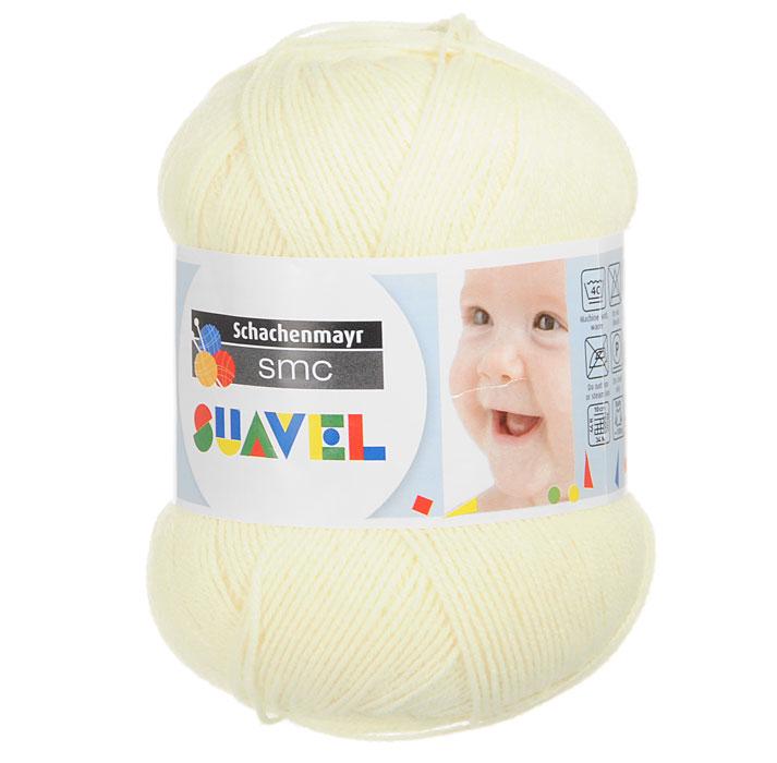 Детская пряжа для вязания Suavel, цвет: Vanille / Ванильный (07536), 366 м, 50 г9814876-07536Пряжа для вязания Suavel изготовлена из 100% полиакрила ванильного цвета. Пряжа обладает антибактериальными свойствами, поэтому детская одежда будет всегда оставаться чистой и свободной от микробов. Антибактериальная защита сохраняется даже после многократных стирок. Богатая цветовая палитра позволит выбрать как классические цвета, так и более насыщенные.
