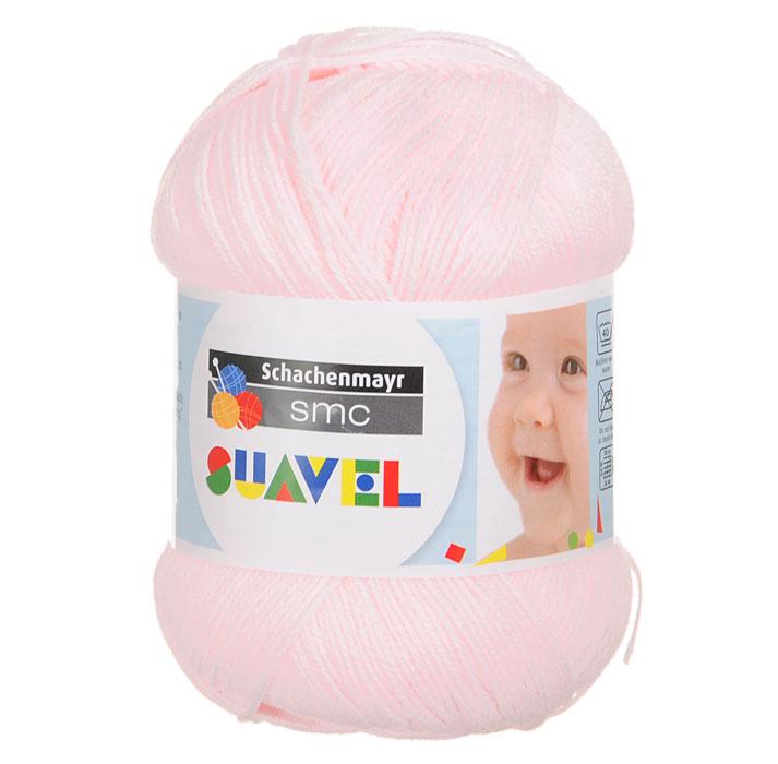 Детская пряжа для вязания Suavel, цвет: Rosa / Светло-розовый (07552), 366 м, 50 г9814876-07552Пряжа для вязания Suavel изготовлена из 100% полиакрила светло-розового цвета. Пряжа обладает антибактериальными свойствами, поэтому детская одежда будет всегда оставаться чистой и свободной от микробов. Антибактериальная защита сохраняется даже после многократных стирок. Богатая цветовая палитра позволит выбрать как классические цвета, так и более насыщенные.