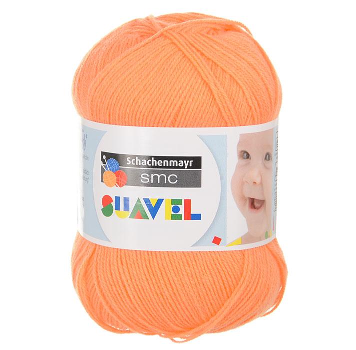 Детская пряжа для вязания Suavel, цвет: Orange / Оранжевый (08330), 366 м, 50 г9814876-08330Пряжа для вязания Suavel изготовлена из 100% полиакрила оранжевого цвета. Пряжа обладает антибактериальными свойствами, поэтому детская одежда будет всегда оставаться чистой и свободной от микробов. Антибактериальная защита сохраняется даже после многократных стирок. Богатая цветовая палитра позволит выбрать как классические цвета, так и более насыщенные.