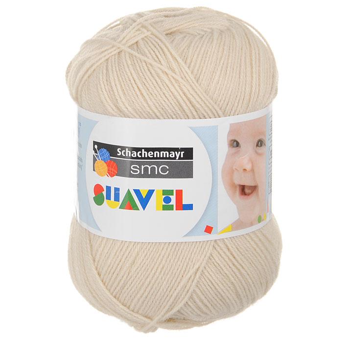 Детская пряжа для вязания Suavel, цвет: Sand / Песочный (08345), 366 м, 50 г9814876-08345Пряжа для вязания Suavel изготовлена из 100% полиакрила песочного цвета. Пряжа обладает антибактериальными свойствами, поэтому детская одежда будет всегда оставаться чистой и свободной от микробов. Антибактериальная защита сохраняется даже после многократных стирок. Богатая цветовая палитра позволит выбрать как классические цвета, так и более насыщенные.