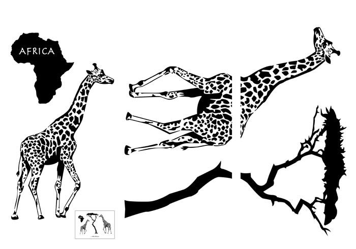 Украшение для стен и предметов интерьера Африканские жирафыTG 1102Украшение для стен и предметов интерьера Африканские жирафы, состоящее из 3 самоклеющихся рисунков с изображением жирафов, дерева и материка, поможет вам украсить интерьер вашего дома и проявить индивидуальность. Декоретто - уникальный способ легко и быстро оживить интерьер, добавить в него уют и радость. Для вас открываются безграничные возможности проявить творчество и фантазию, придумать оригинальный дизайн, придать новый вид стенам и мебели. В коллекции Декоретто вы найдете украшения для любых городских и дачных интерьеров: детских, гостиных, спален, кухонь, ванных комнат. Преимущество Декоретто: изготовлены из экологически безопасной самоклеющейся пленки с водоотталкивающей поверхностью; быстро и легко наклеиваются на обои, крашеные стены, дерево, керамическую плитку, металл, стекло, пластик; при необходимости удобно снимаются, не оставляют следов и не повреждая поверхность (кроме бумажных обоев); специальный слой защищает...
