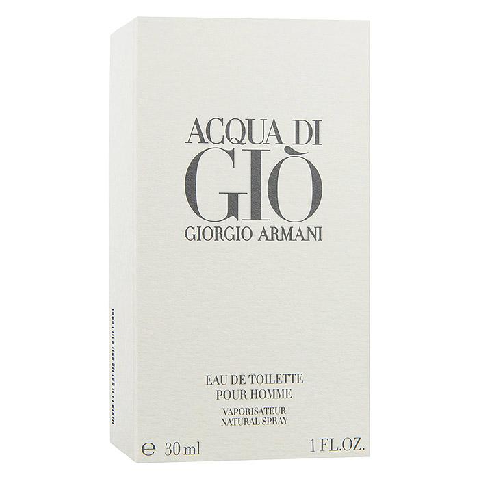 "Giorgio Armani Туалетная вода ""Acqua Di Gio Pour Homme"", мужская, 30 мл"