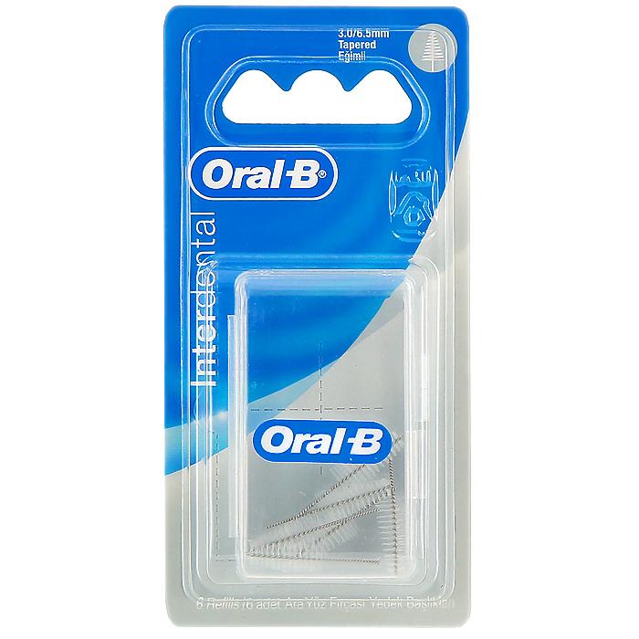 Сменный ершик Oral-B Interdental для межзубной щетки, конический, 6 штIDR-75034154Ершик Oral-B Interdental обеспечивает эффективную очистку вокруг мостов, брекетов и широких межзубных промежутков, помогая содержать ваши зубы и конструкции в чистоте и здоровье. Конические ершики предназначены для более широких пространств между зубами и различными конструкциями