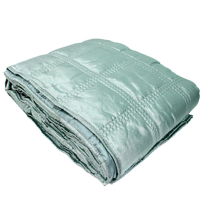 Покрывало стеганое Коллекция, цвет: бирюзовый, 220 х 240 смПС-54бирюзСтеганое покрывало Коллекция выполнено из полиэстера и оформлено фигурной стежкой. Покрывало Коллекция - это отличный способ придать спальне уют и привнести в интерьер что-то новое. Покрывало вложено в пластиковую сумку. Характеристики: Материал: 100% полиэстер. Размер покрывала: 220 см х 240 см. Размер упаковки: 45 см х 37 см х 13 см. Производитель: Китай. Артикул: ПС-54бирюз.